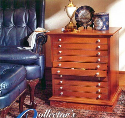 100-Collectors Cabinet - Furniture Plans and Projects