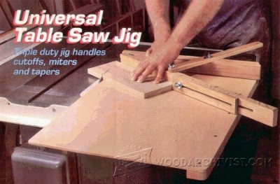 105-Crosscut Sled - Table Saw Tips, Jigs and Fixtures