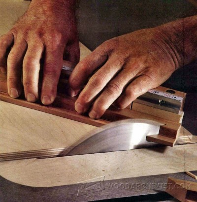 107-Crosscut Sled - Table Saw Tips, Jigs and Fixtures