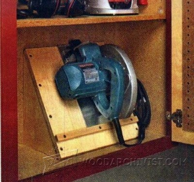 109-Circular Saw Storage Caddy - Circular Saw Tips, Jigs and Fixtures