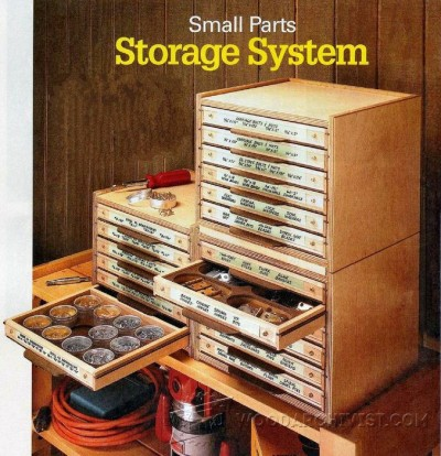 11-Small Parts Storage System - Workshop Solutions Projects, Tips and Tricks