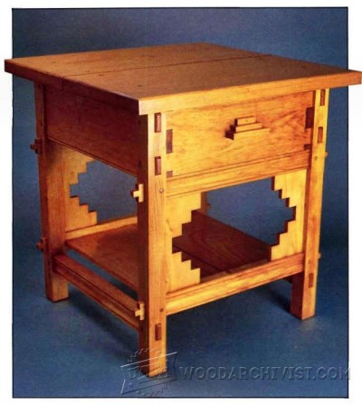118-Santa Fe Table - Furniture Plans and Projects
