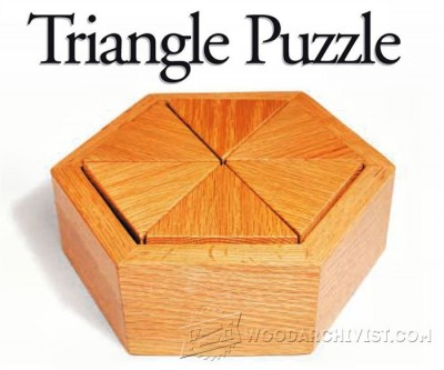 124-Triangle Puzzle - Plans and Projects