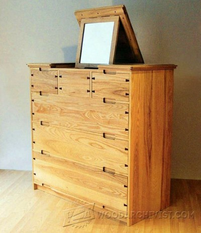 127-Dressing Chest - Furniture Plans and Projects