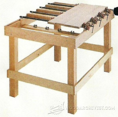 129-Clamping Table - Workshop Solutions Projects, Tips and Tricks