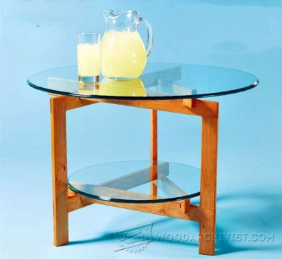 130-Summer Table - Furniture Plans and Projects