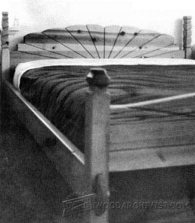 137-How to Make a Simple Bed - Furniture Plans and Projects