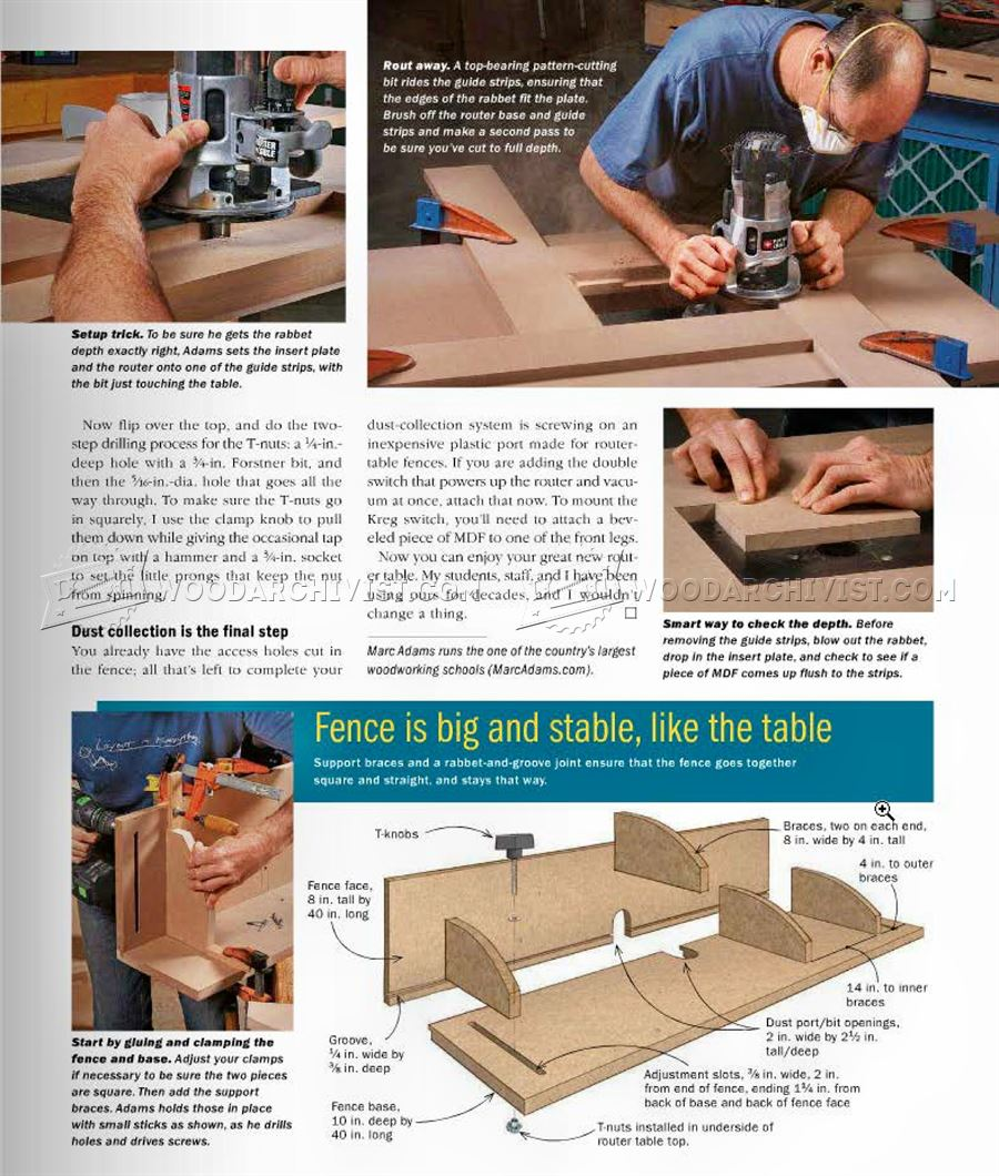 Router table plans woodarchivist router table plans keyboard keysfo Image collections