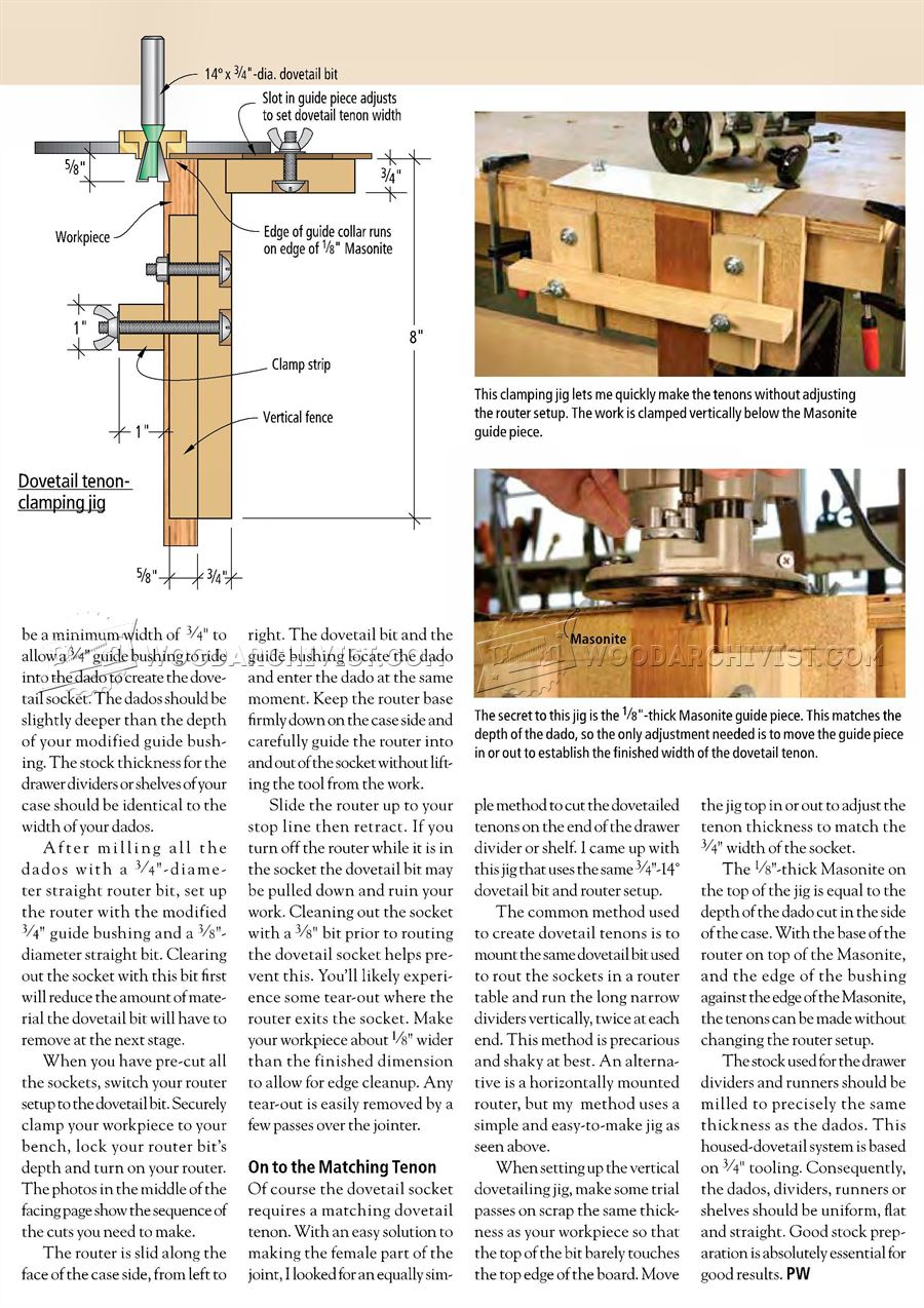 Housed Dovetails