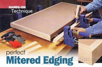 147-Perfect Mitered Edging -Edging Tips, Jigs and Techniques