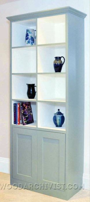 151-Crockery Storage - Furniture Plans and Projects