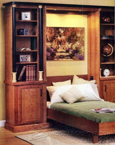 152-Murphy Bed - Furniture Plans and Projects