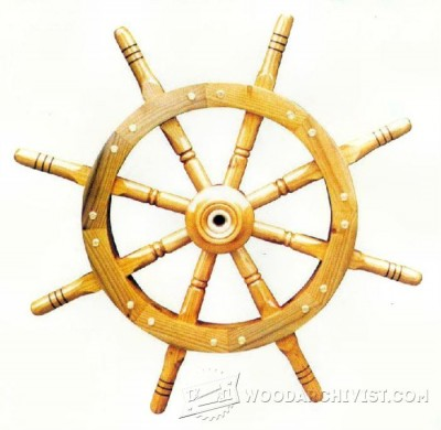16-Ship's Wheel - Plans and Projects