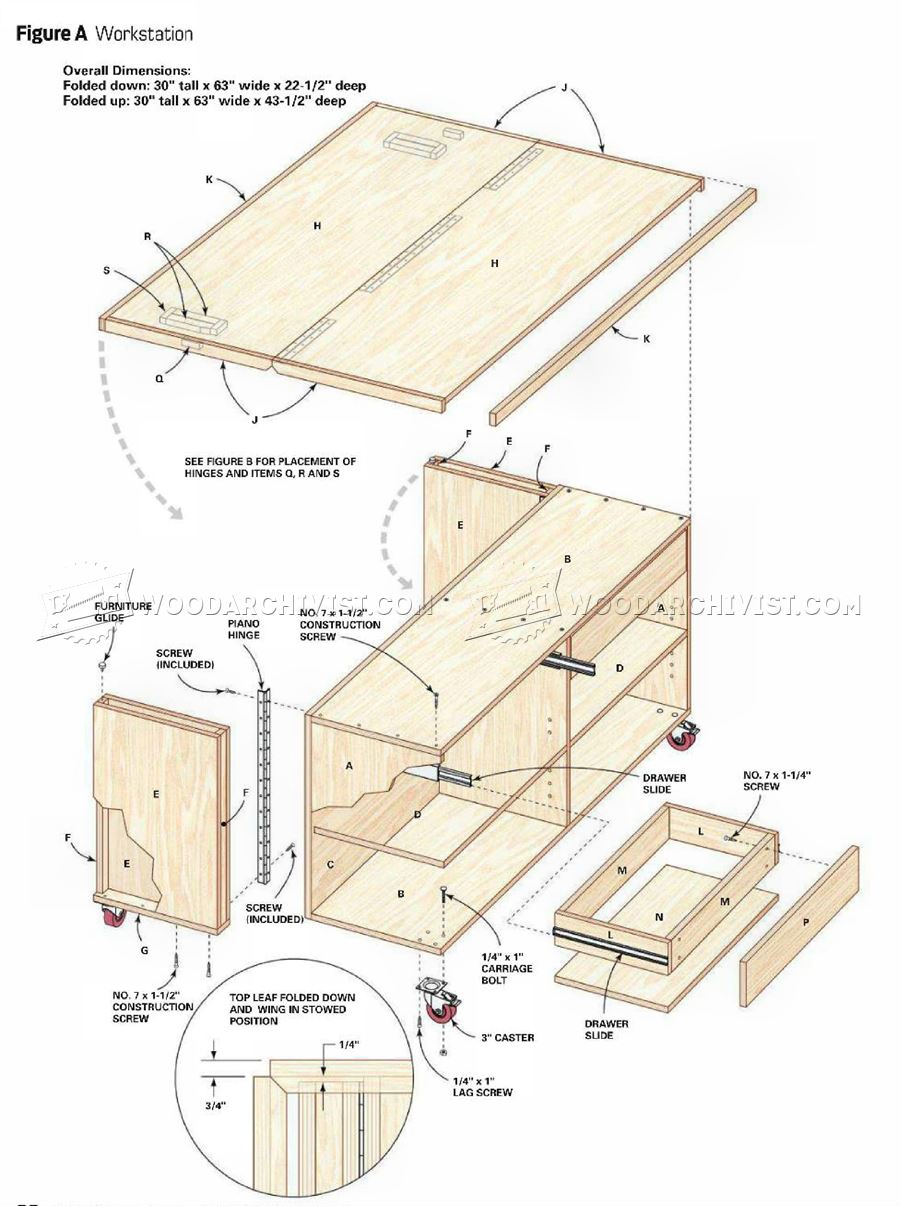 Spase Sawer Worktable Plans