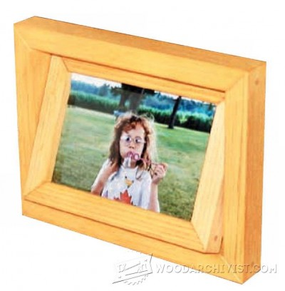 172-Two-Sided Picture Frame - Plans and Projects
