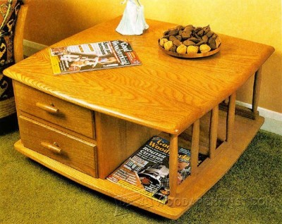 178-Coffee Table - Furniture Plans and Projects
