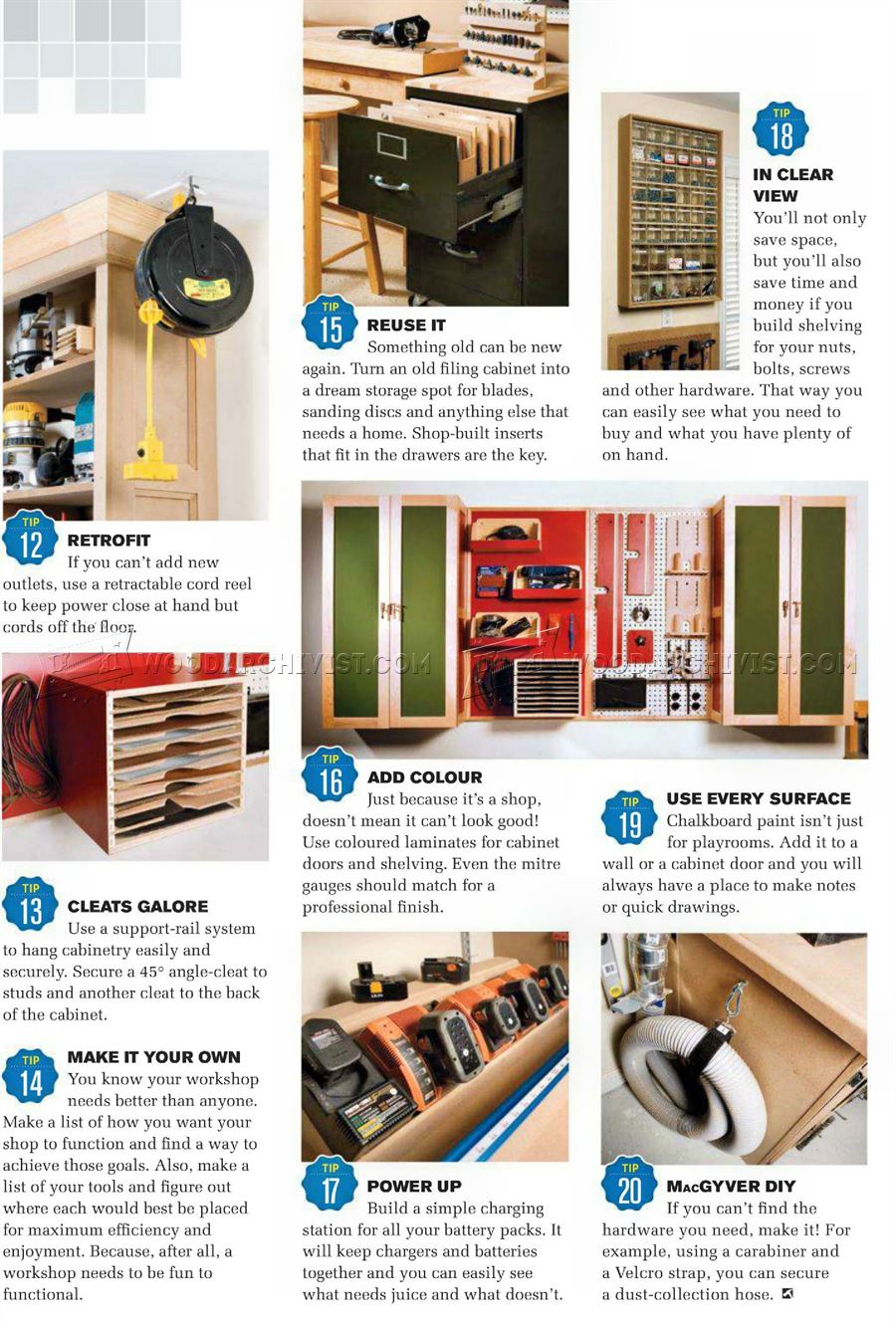 20 Tips for Creating a More Efficient Workshop