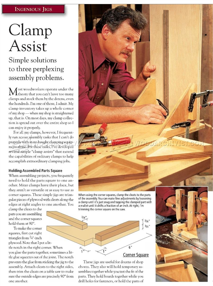 Clamping Square Assembly Jig