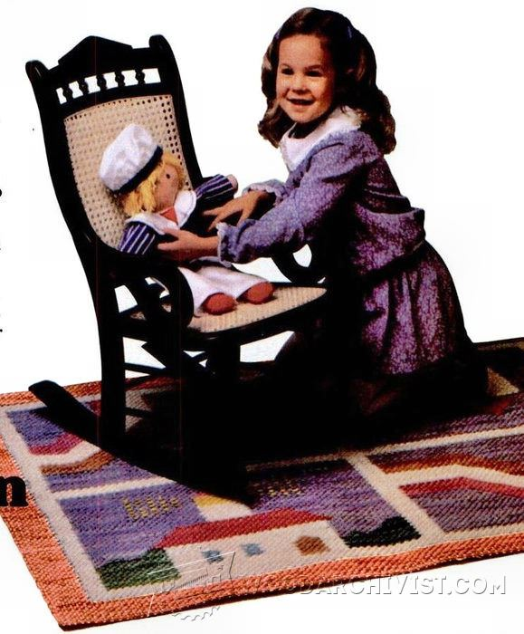 Children S Victorian Rocking Chair Plans Woodarchivist