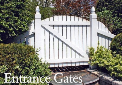 25-Entrance Gates - Outdoor Plans and Projects
