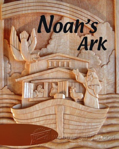 26-Carving a Noah's Ark -Carving Projects and Techniques