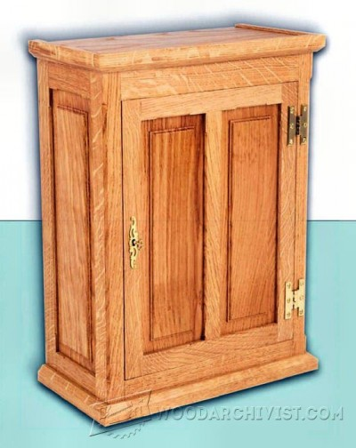 27-Wall Cabinet - Furniture Plans and Projects