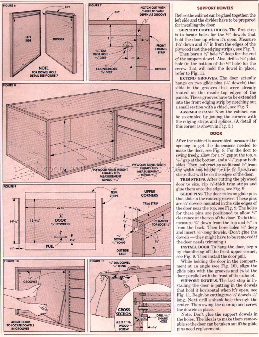 Traditional Workbench Plans