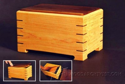3-Keepsake Box - Plans and Projects