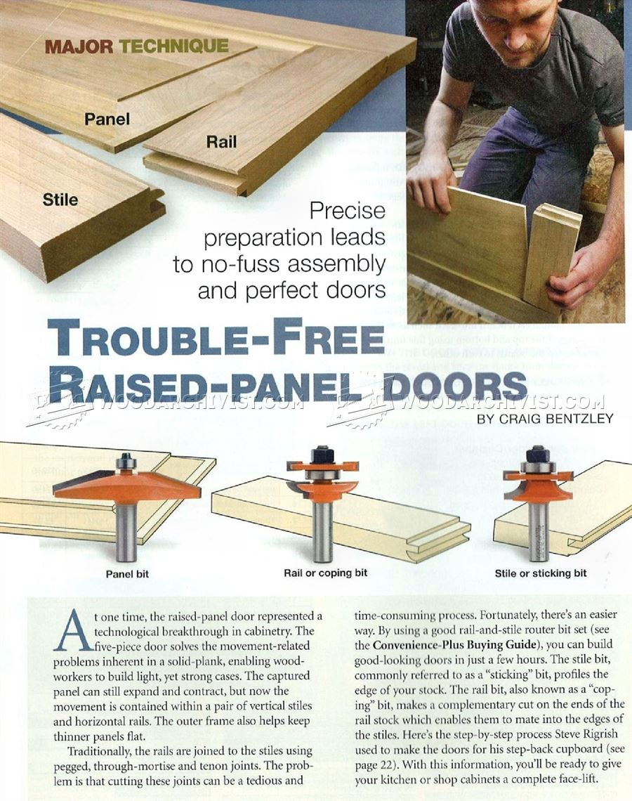 Trouble-Free Raised Panel Doors