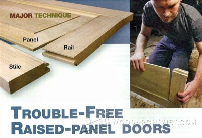 30-Trouble-Free Raised Panel Doors - Furniture Components Projects and Techniques