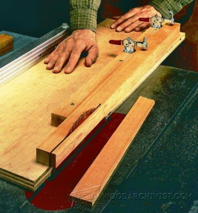 35-Cutting Perfect Tapers - Furniture Components Projects and Techniques