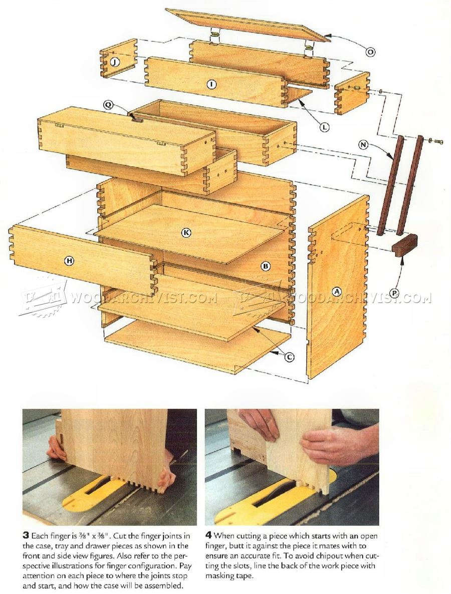 #4 Tool Chest Plans