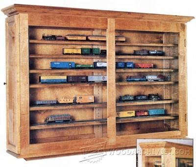 40-Display Case - Furniture Plans and Projects