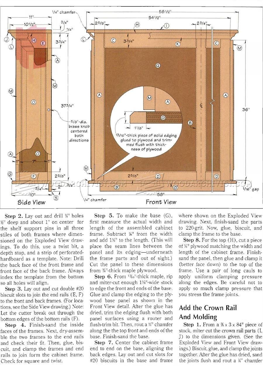 Display Case Plans