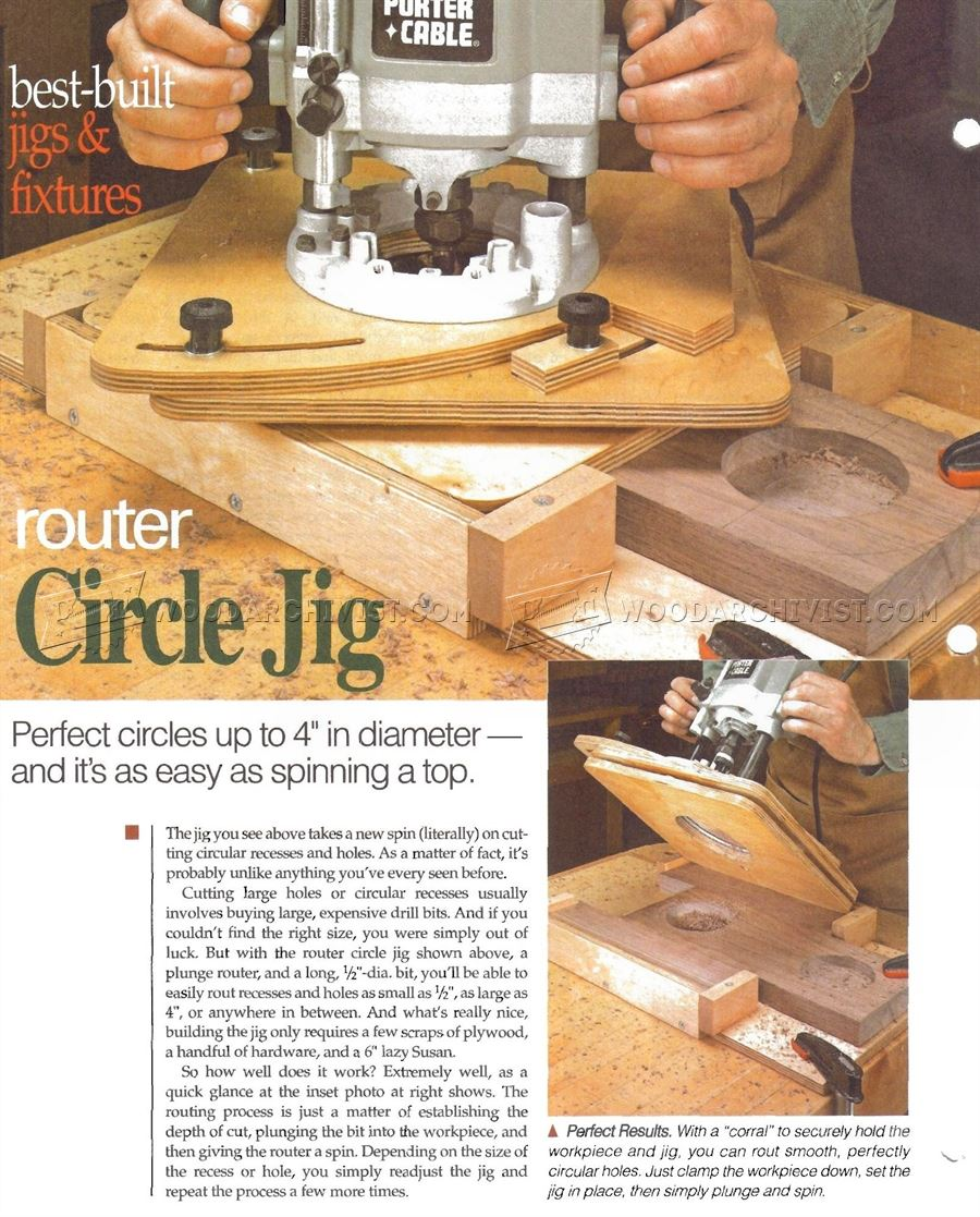 #47 Router Circle Jig