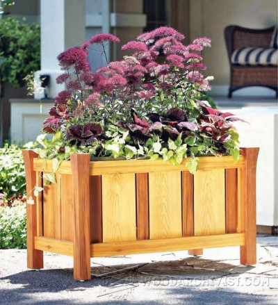 52-Versailles Planter - Outdoor Plans and Projects