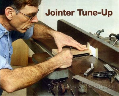 53-Jointer Tune Up - Jointer Tips, Jigs and Fixtures