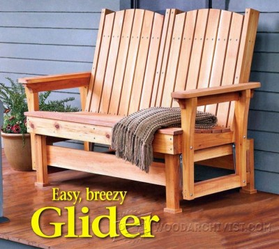 57-Glider Bench - Outdoor Plans and Projects