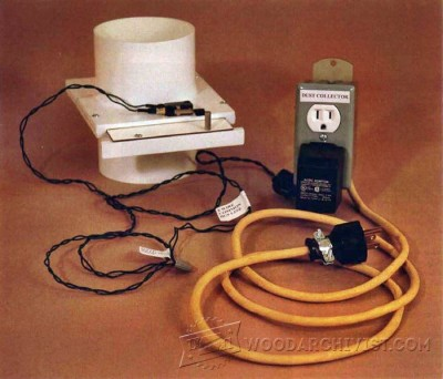 59-Blast Gate Controls - Dust Collection Tips, Jigs and Fixtures