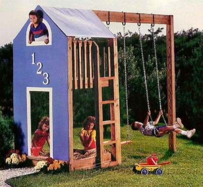 60-Play Structure - Children's Plans and Projects