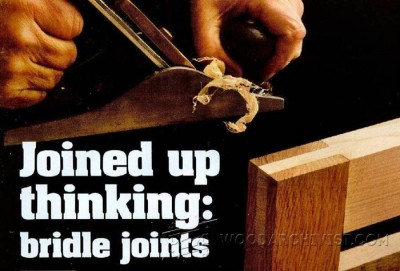 61-Bridle Joints - Joinery Tips, Jigs and Techniques