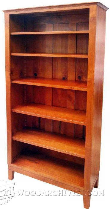 62-Bookcase - Furniture Plans and Projects
