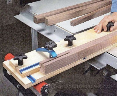 69-Multipurpose Tapering Jig - Furniture Components Projects and Techniques