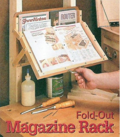7-Fold-Out Magazine Rack - Workshop Solutions Projects, Tips and Tricks