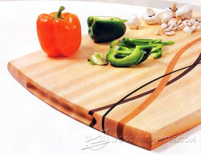 71-Cutting Board - Plans and Projects