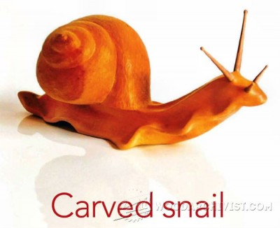 76-Carving a Snail -Carving Projects and Techniques