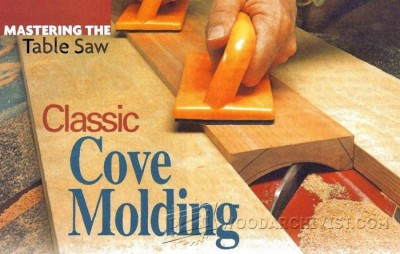 8-Classic Cove Molding - Furniture Components Projects and Techniques