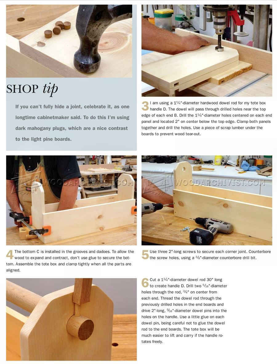 how to build a toolbox hinge