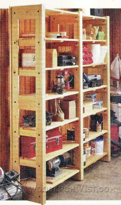 84-Modular Storage Shelving - Workshop Solutions Projects, Tips and Tricks