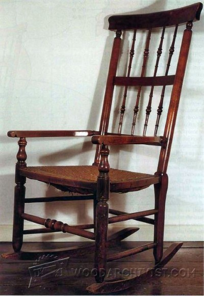 90-Rocking Chair - Furniture Plans and Projects